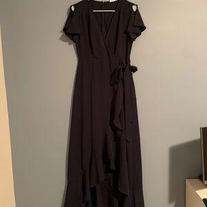 Altar'd State navy blue maxi dress!